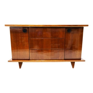 Midcentury Art Deco Style Credenza/Sideboard, 1950s For Sale