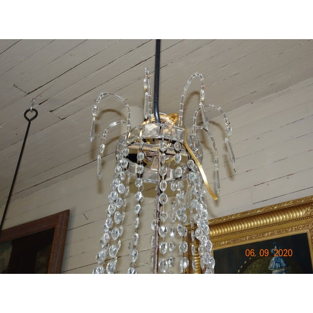18th Century Empire Crystal Chandelier For Sale - Image 4 of 13