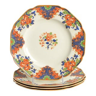 Crown Ducal Dinner Plate - Set of 4 For Sale