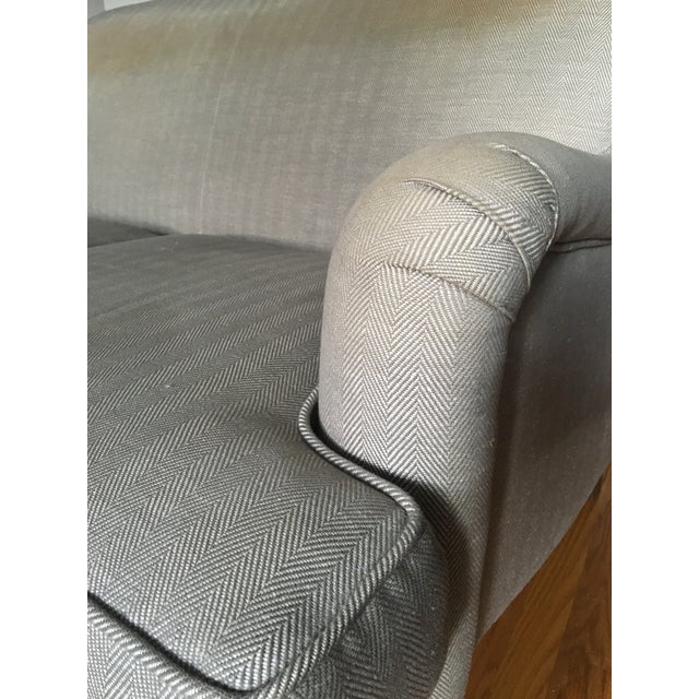 English Roll Arm Sofa For Sale - Image 10 of 13
