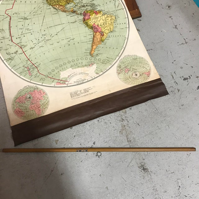 This set of four pull down maps comes in their original case. One of the maps is dated with their year of manufacture,...