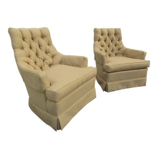 Mid-Century Modern Arm Chairs -A Pair