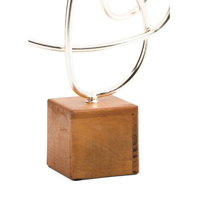 Contemporary Metal Art Sculpture - Image 3 of 3