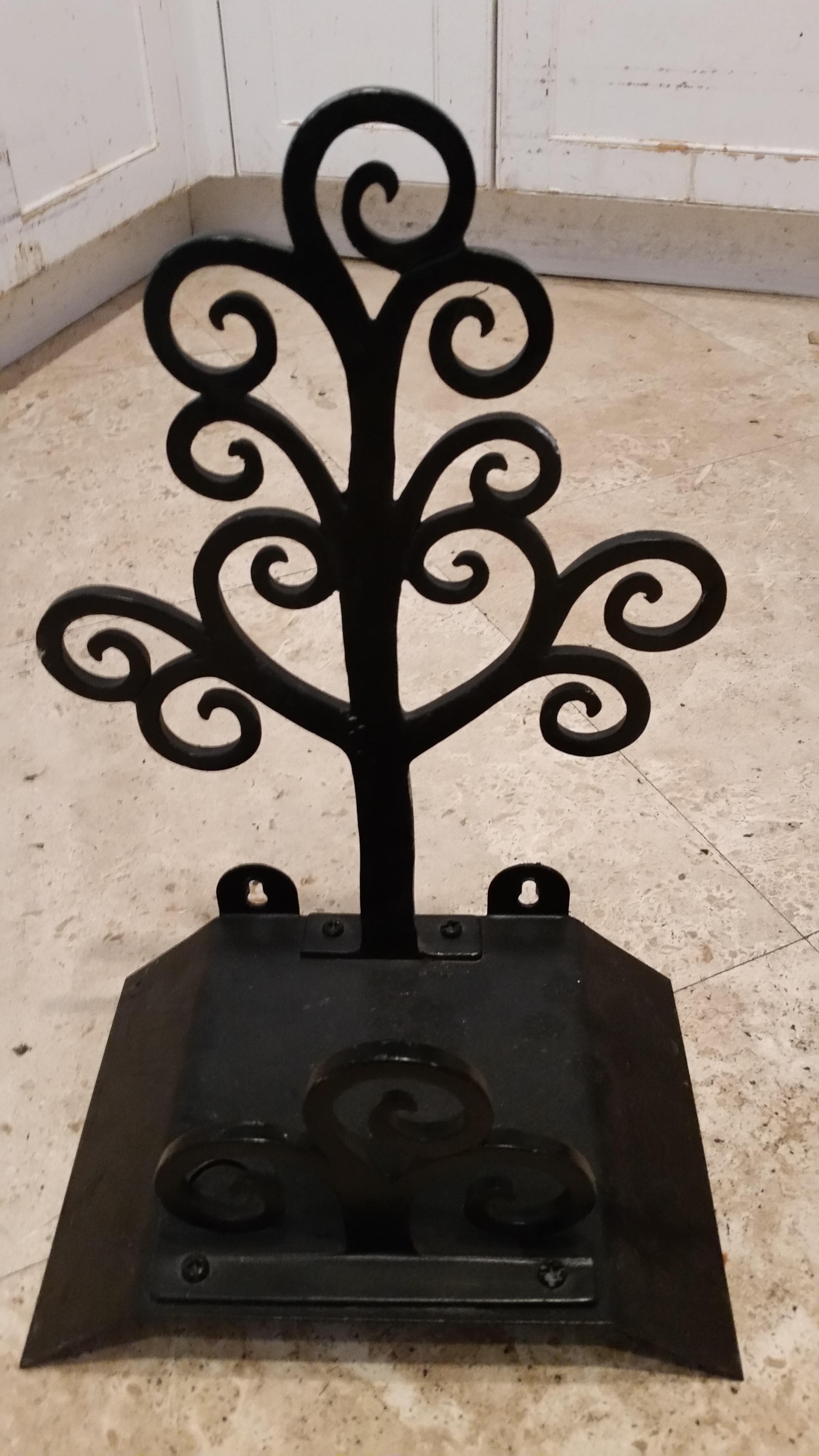 Marvelous Winterthur Black Metal Garden Hose Holder   Image 2 Of 6