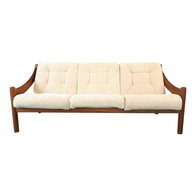 Domino Mobler Danish Modern Teak Sofa For Sale