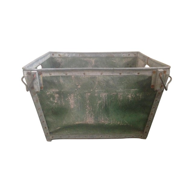 Antique Industrial Mail Bin - Image 1 of 5