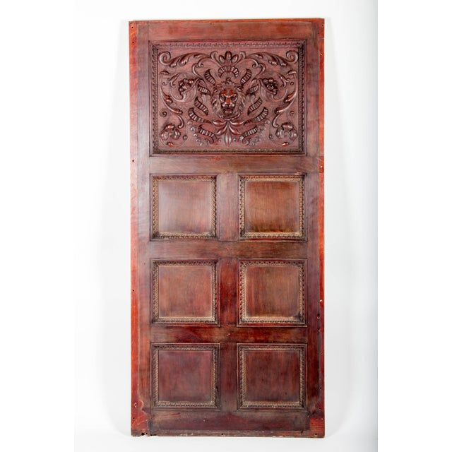Large oak portion of the original wall paneling from the Cornelius Vanderbilt II 5th Ave. Mansion c.1880. These were hand-...