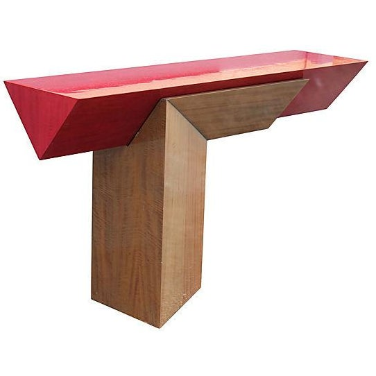 Floating Memphis-Style Console - Image 1 of 7