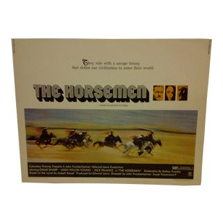 """The Horsemen"" 1971 Vintage Movie Poster For Sale"