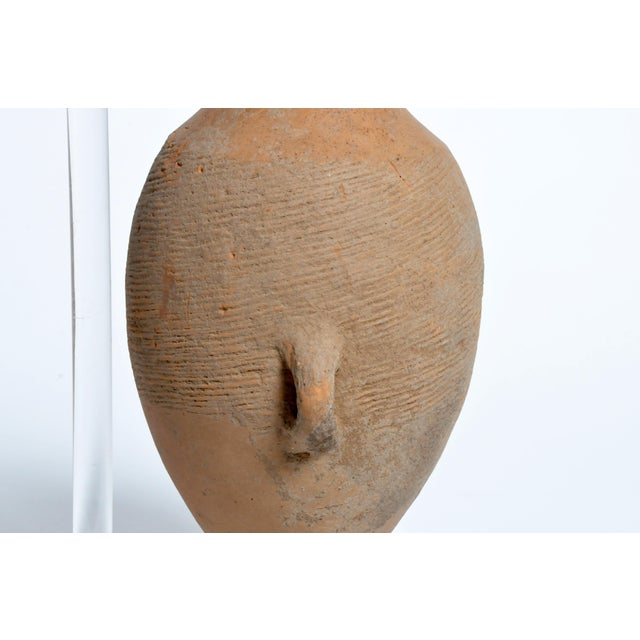 15th Century & Earlier Neolithic Jar on Stand For Sale - Image 5 of 13