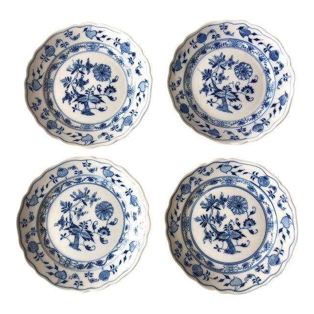 Vintage Meissen Bread Plates by Carl Teichert - Set of 4 For Sale