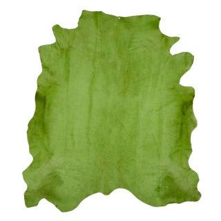 Verde Cow Hide Rug - 7′ × 8′ For Sale