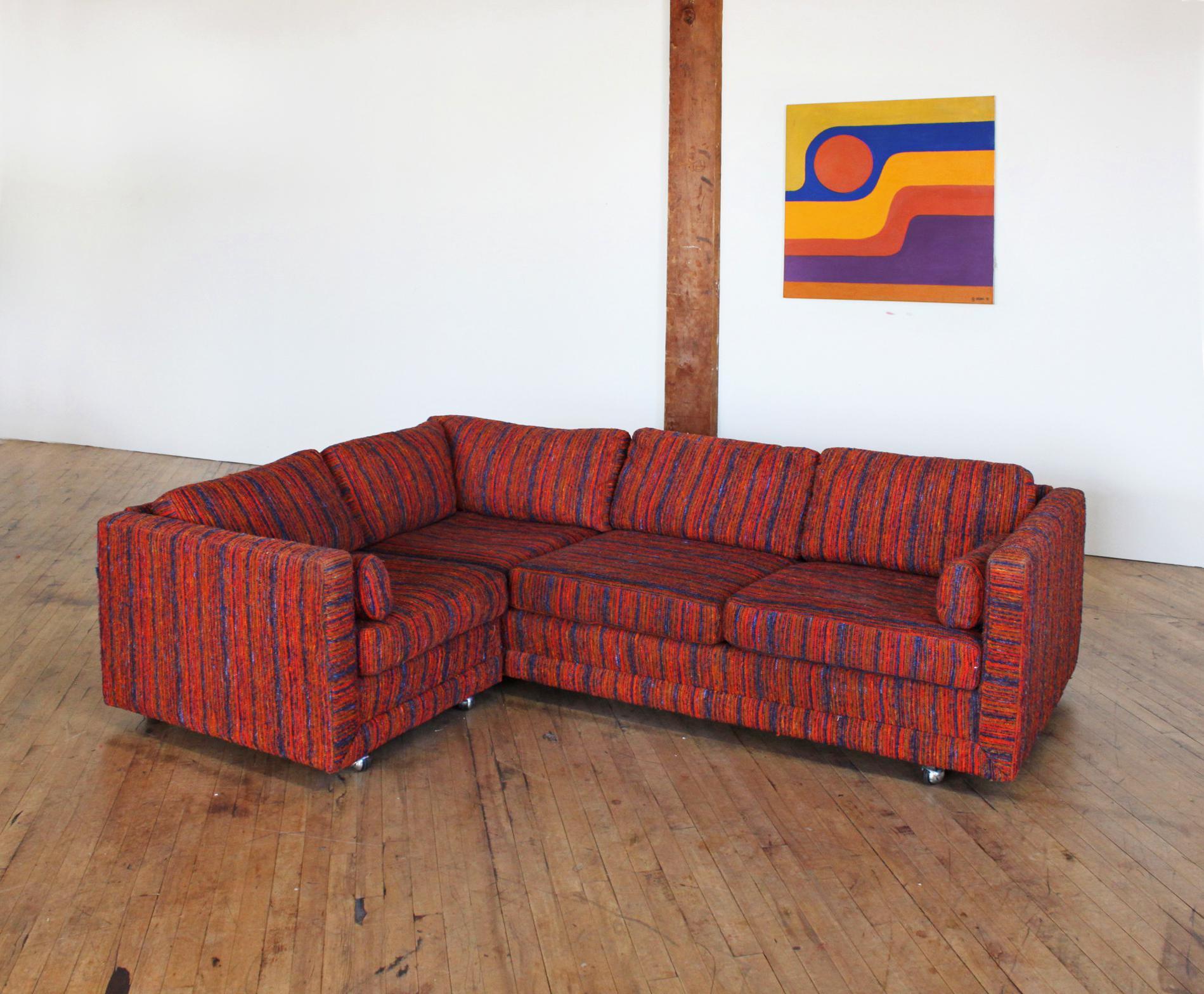 Selig W J Sloane Mid Century Modern Sofa Sectional Chairish