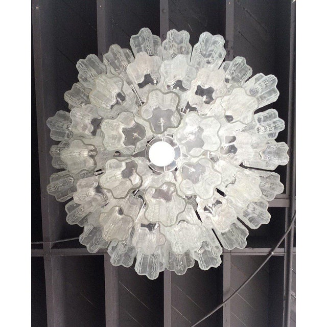 Tronchi Glass Chandelier by Venini for Murano - Image 9 of 9