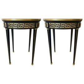 Image of Ebony Side Tables