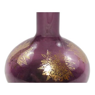 Vintage Gilded Purple Decanter Preview