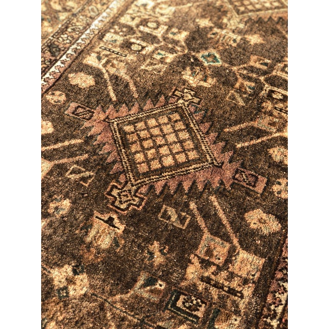 1950s Vintage Persian Sarab Runner - 3′1″ × 10′6″ For Sale - Image 12 of 13