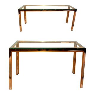 Vintage Zilly Italian Consoles - a Pair