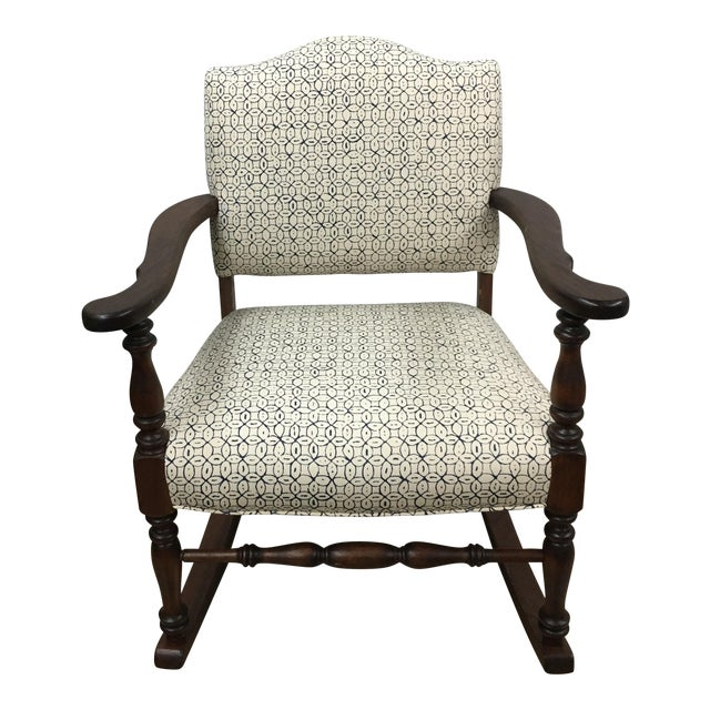 Vintage Granny Rocker Chair For Sale
