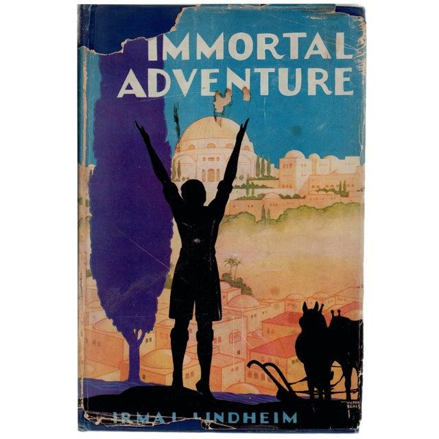 """The Immortal Adventure"" Signed Book Circa 1928 For Sale"