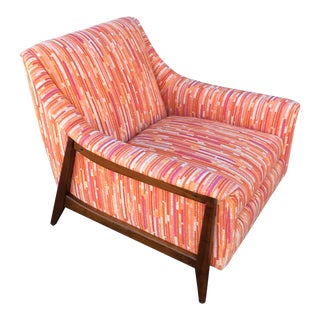 1960s Mid-Century Accent Chair For Sale