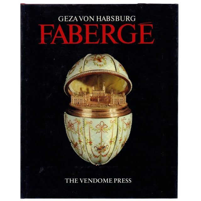 """1987 """"Faberge"""" Coffee Table Book For Sale"""