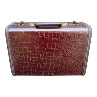 Croc Print Samsonite Luggage For Sale