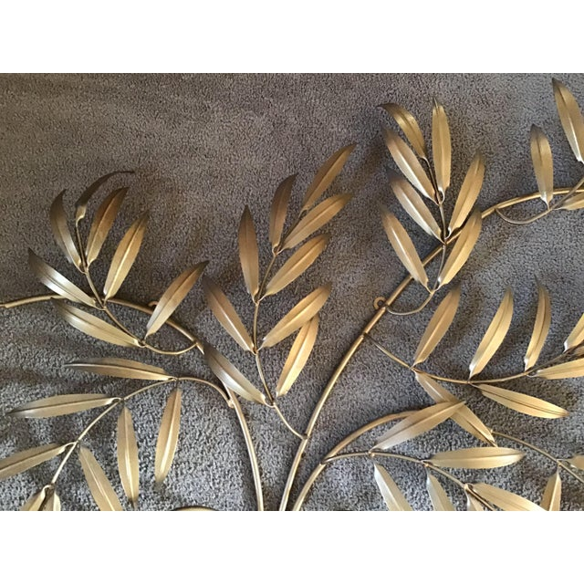 Mid 20th Century Italian French Wheat Sheaf Wall Sculpture, Italy Last Markdown For Sale - Image 5 of 8