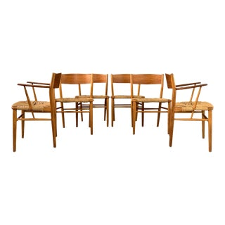 Mid-Century Børge Mogensen Dining Chairs by Søborg Møbelfabrik- Set of 6 For Sale