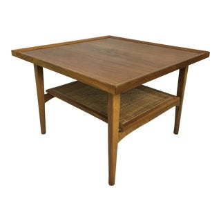 Kipp Stewart for Drexel Declaration Walnut Coffe Table/Side Table
