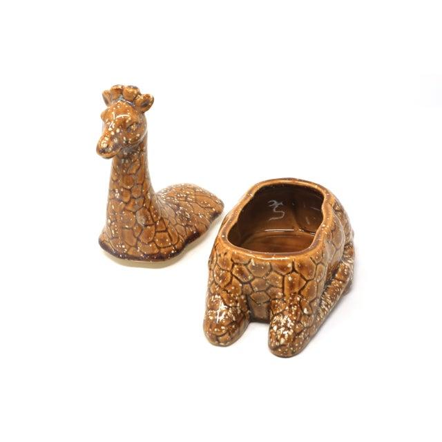 Vintage Giraffe Lidded Dish For Sale - Image 4 of 8