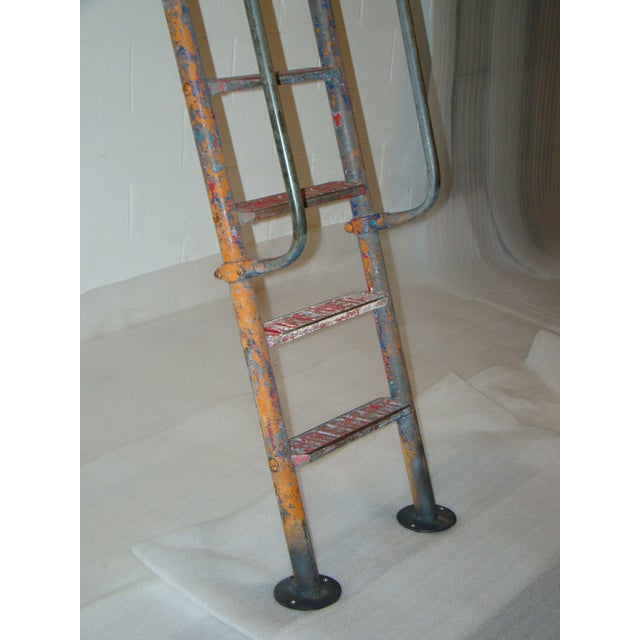 1940s Vintage Steel American Playground Ladder For Sale - Image 5 of 11