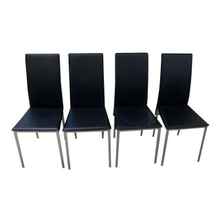Mid Century Modern Coaster Company of America Aluminum Frame Chairs - Set of 4 For Sale