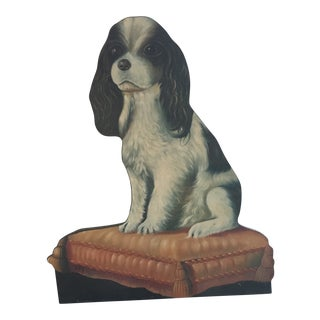 1990s Chelsea House King Charles Spaniel Dummy Board For Sale
