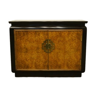 """Century Furniture Chin Hua Asian Chinoiserie 40"""" Storage Server Buffet For Sale"""