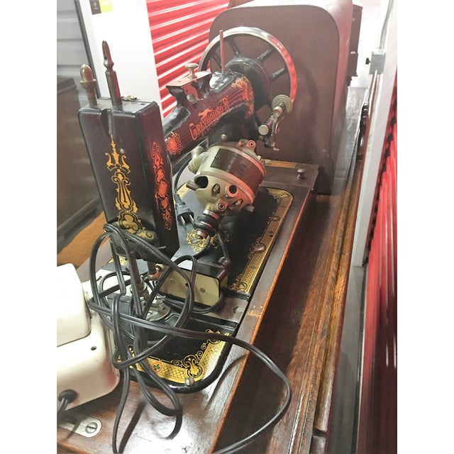 Greyhound Electric Portable Sewing Machine For Sale - Image 5 of 10