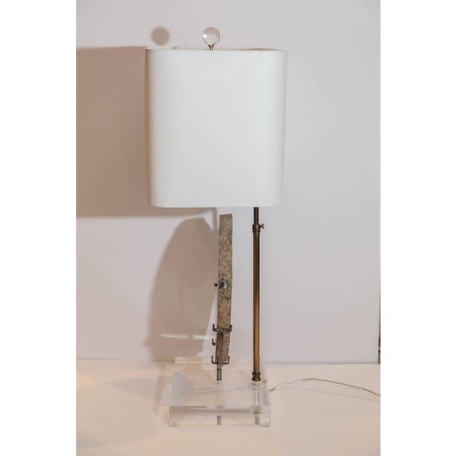 Contemporary Agate Lamp For Sale - Image 3 of 5