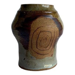 Vintage Pottery Vase For Sale