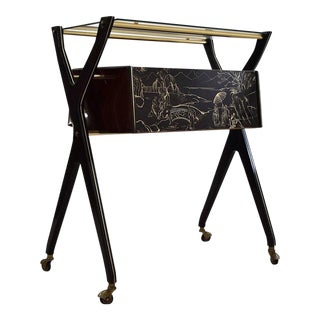 Cesare Lacca Mid Century Modern Trolley For Sale