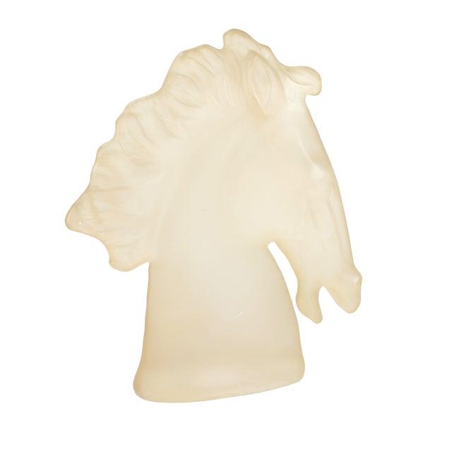 Austin Ing 1983 Lucite Horse Sculpture - Image 1 of 10