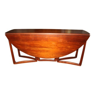 Peter Hvidt & Olga Molgaard Nielsen Teak Dining Room by John Stuart For Sale