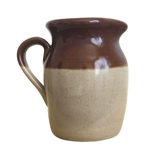 Brown Betty Rustic Cream Pitcher Bud Vase - Image 1 of 5