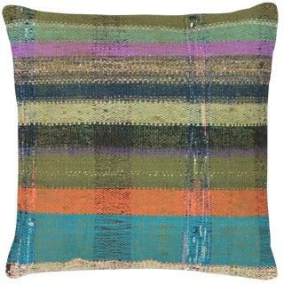 "Nalbandian - 1960s Turkish Adana Hemp Pillow - 20"" X 20"" For Sale"