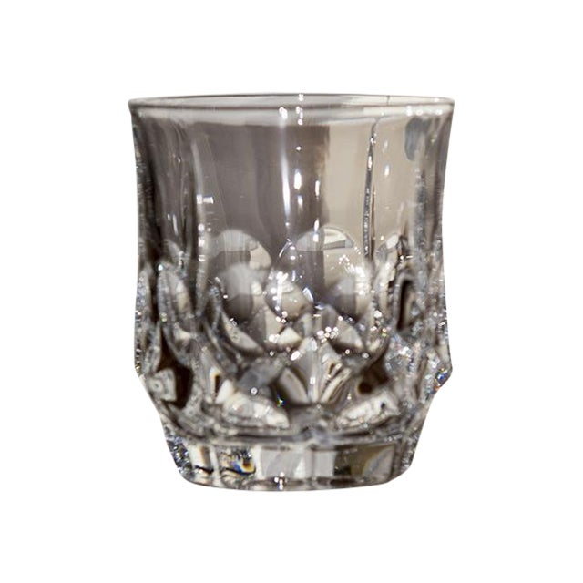 Double Czech Crystal Glasses - Set of 4 - Image 1 of 4