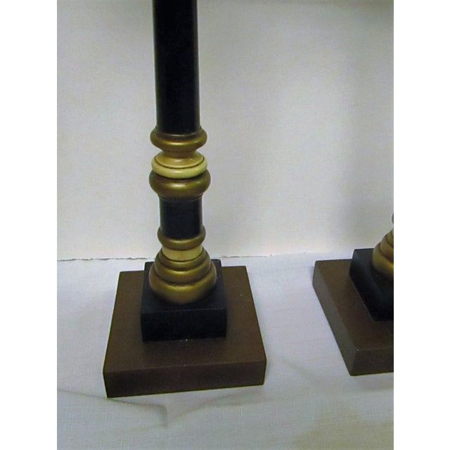 Vintage Palm Tree Candlesticks - A Pair - Image 6 of 6