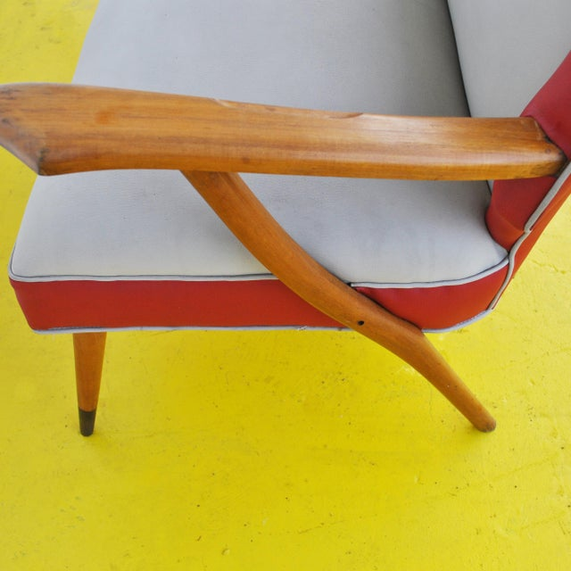 White Italian Style Settee For Sale - Image 8 of 11
