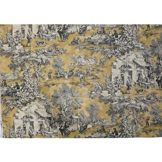 Kravet Portfolio Fabric French Toile Lutece- 5 Yards For Sale