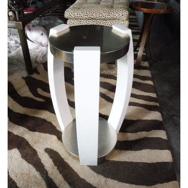 Vintage Sally Sirkin Lewis for J. Robert Scott Harlow Side Table For Sale - Image 10 of 10
