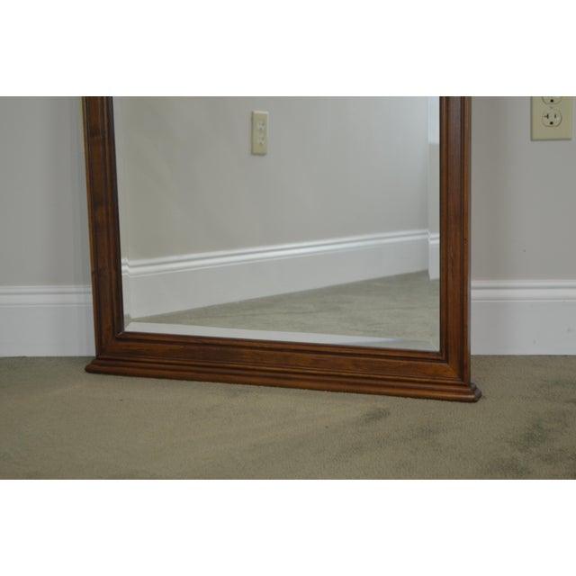 Lexington Furniture Lexington Cherry Arch Top Beveled Mirror For Sale - Image 4 of 13