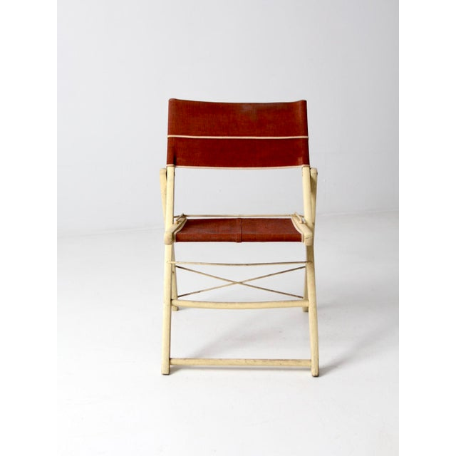 Mid-Century Modern Mid-Century Folding Chair For Sale - Image 3 of 8